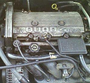 Quad 4 engine - A 2.3 L Quad 4 in 1995 Chevrolet Cavalier Z24