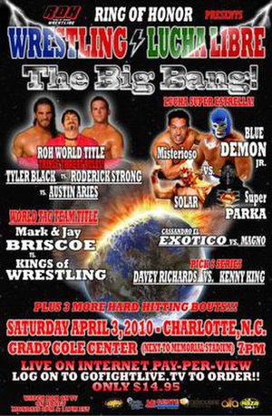 ROH The Big Bang! - Promotional poster