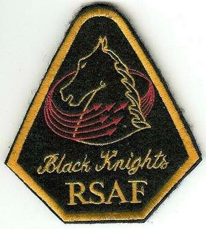 Tengah Air Base - Emblem of the RSAF Black Knights.