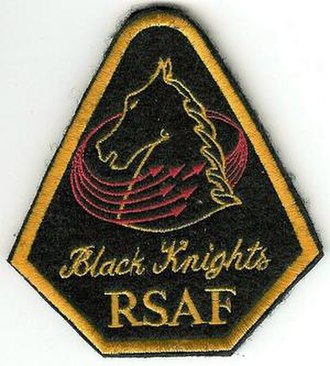 Tengah Air Base - Emblem of the RSAF Black Knights.