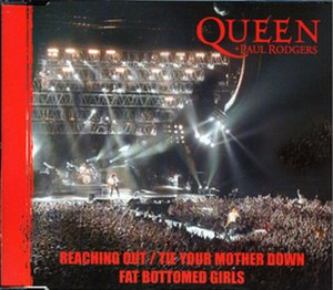 Reaching Out (Queen + Paul Rodgers song) - Image: Reaching out singlecover