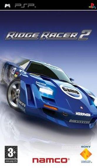 Ridge Racer 2 (2006 video game) - Image: Ridge Racer 2 psp