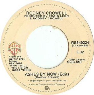 Ashes by Now - Image: Rodney Crowell Ashes By Now
