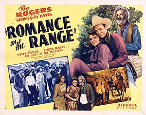 Romance on the Range (film) - Theatrical release poster