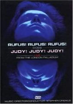 Rufus! Rufus! Rufus! Does Judy! Judy! Judy!: Live from the London Palladium - Image: Rufus! Does Judy! DVD cover