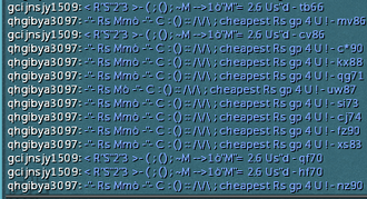 Massively multiplayer online role-playing game - Bots spamming a communication channel in RuneScape to advertise illegitimate market websites.