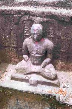 Shahada, Maharashtra - Image: Sculpture Shahada Gomai River