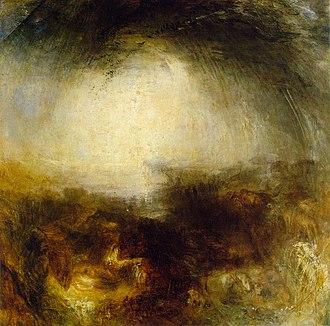Frankfurt art theft (1994) - Shade and Darkness by J. M. W. Turner, 1843