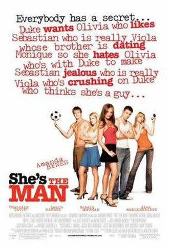 She's the Man - Theatrical release poster