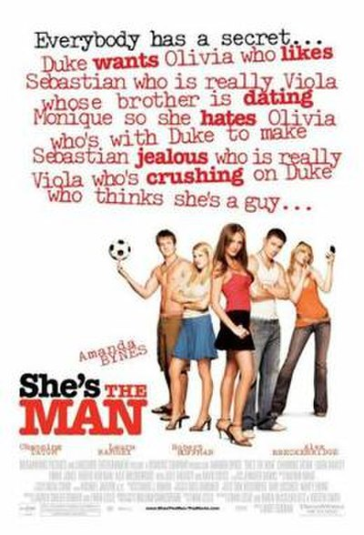 Picture of a movie: She's The Man