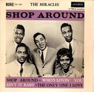 Shop Around - Image: Shop Around The Miracles