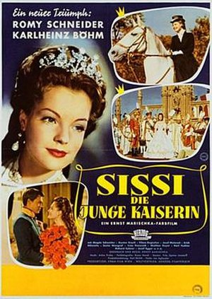 Sissi – The Young Empress - Theatrical release poster