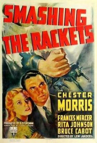 Smashing the Rackets - Theatrical release poster