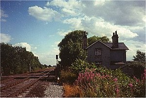 Scrooby railway station - Image: Station House