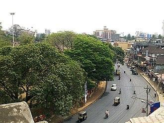 Swaraj Round, Thrissur - A bird's eye view of Swaraj Round