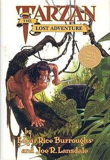<i>Tarzan: The Lost Adventure</i> book by Edgar Rice Burroughs