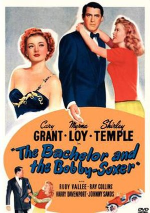 The Bachelor and the Bobby-Soxer - Theatrical release poster