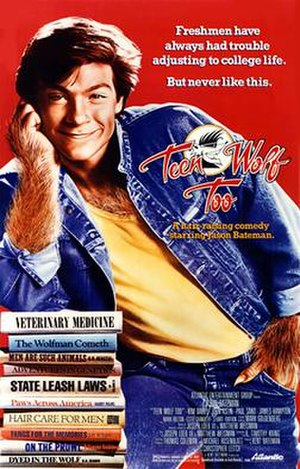 Teen Wolf Too - Theatrical release poster