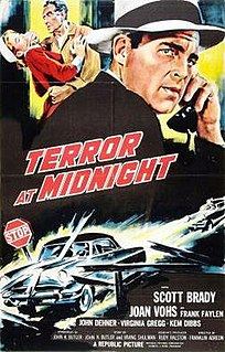 <i>Terror at Midnight</i> 1956 film by Franklin Adreon