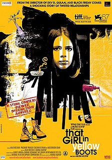 <i>That Girl in Yellow Boots</i> 2010 Indian film directed by Anurag Kashyap