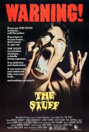 The Stuff - Film poster