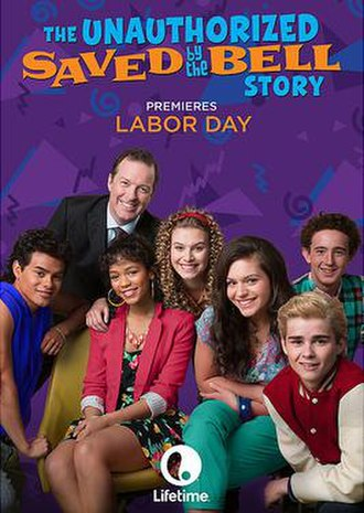 The Unauthorized Saved by the Bell Story - Promotional poster