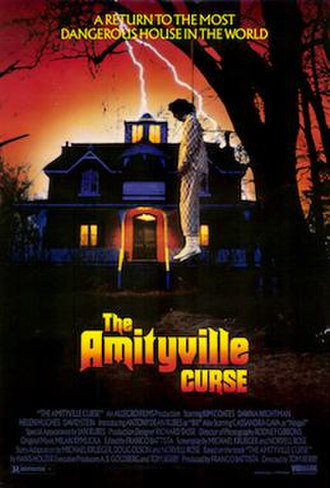 The Amityville Curse - Original poster