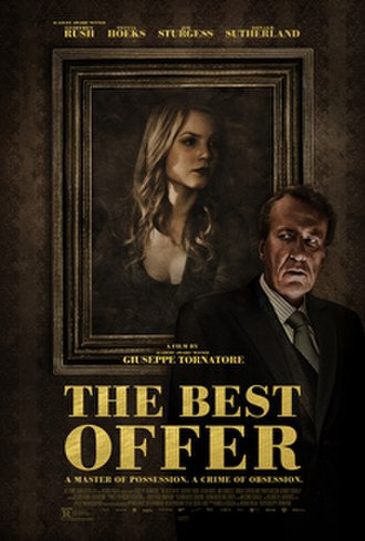 The Best Offer - Italian theatrical release poster