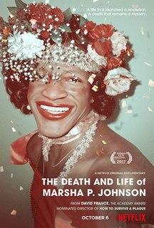 <i>The Death and Life of Marsha P. Johnson</i> 2017 documentary film