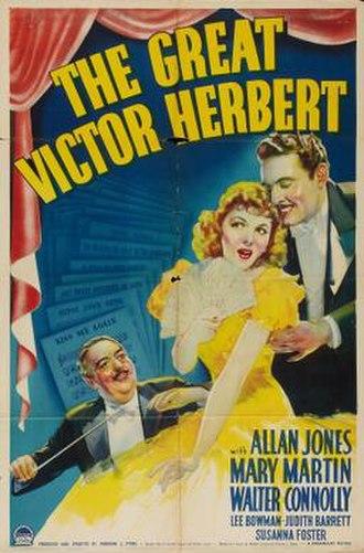 The Great Victor Herbert - Image: The Great Victor Herbert Film Poster