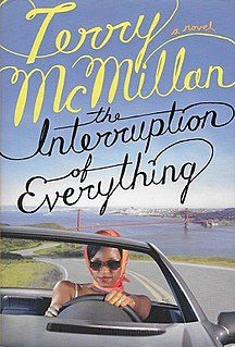 <i>The Interruption of Everything</i> book by Terry McMillan