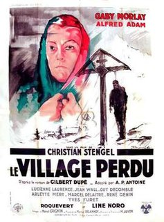 <i>The Lost Village</i> 1947 French drama film directed by Christian Stengel