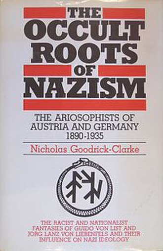 The Occult Roots of Nazism - Cover of the first edition