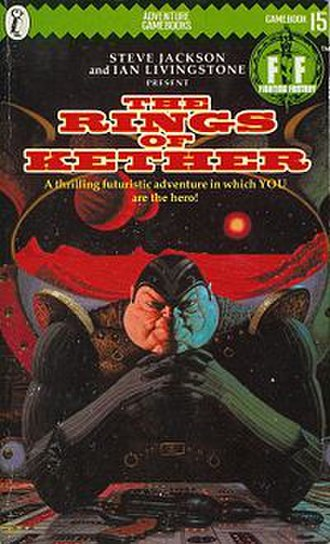 The Rings of Kether - Cover of the first edition