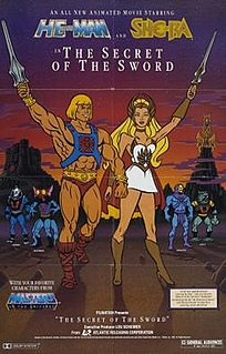 <i>The Secret of the Sword</i> 1985 US animated film directed by Bill Reed and Gwen Wetzler