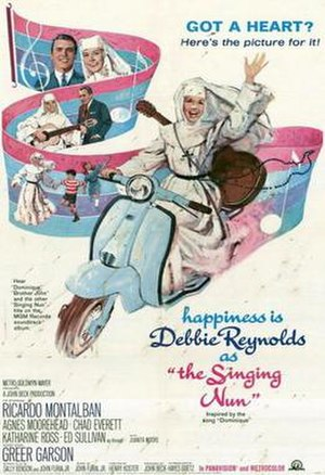 The Singing Nun (film) - Theatrical release poster
