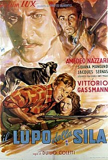 <i>The Wolf of the Sila</i> 1950 film by Duilio Coletti