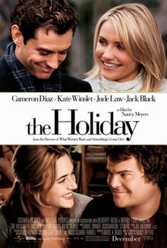 The Holiday - Theatrical release poster