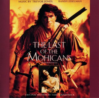 The Last of the Mohicans (soundtrack) - Image: Thelastofthemohicans ostcover