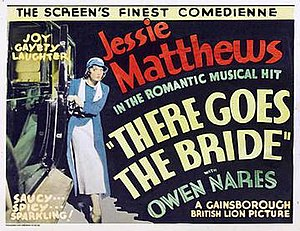 There Goes the Bride (1932 film) - Lobby card