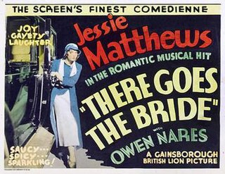 <i>There Goes the Bride</i> (1932 film) 1932 film by Albert de Courville