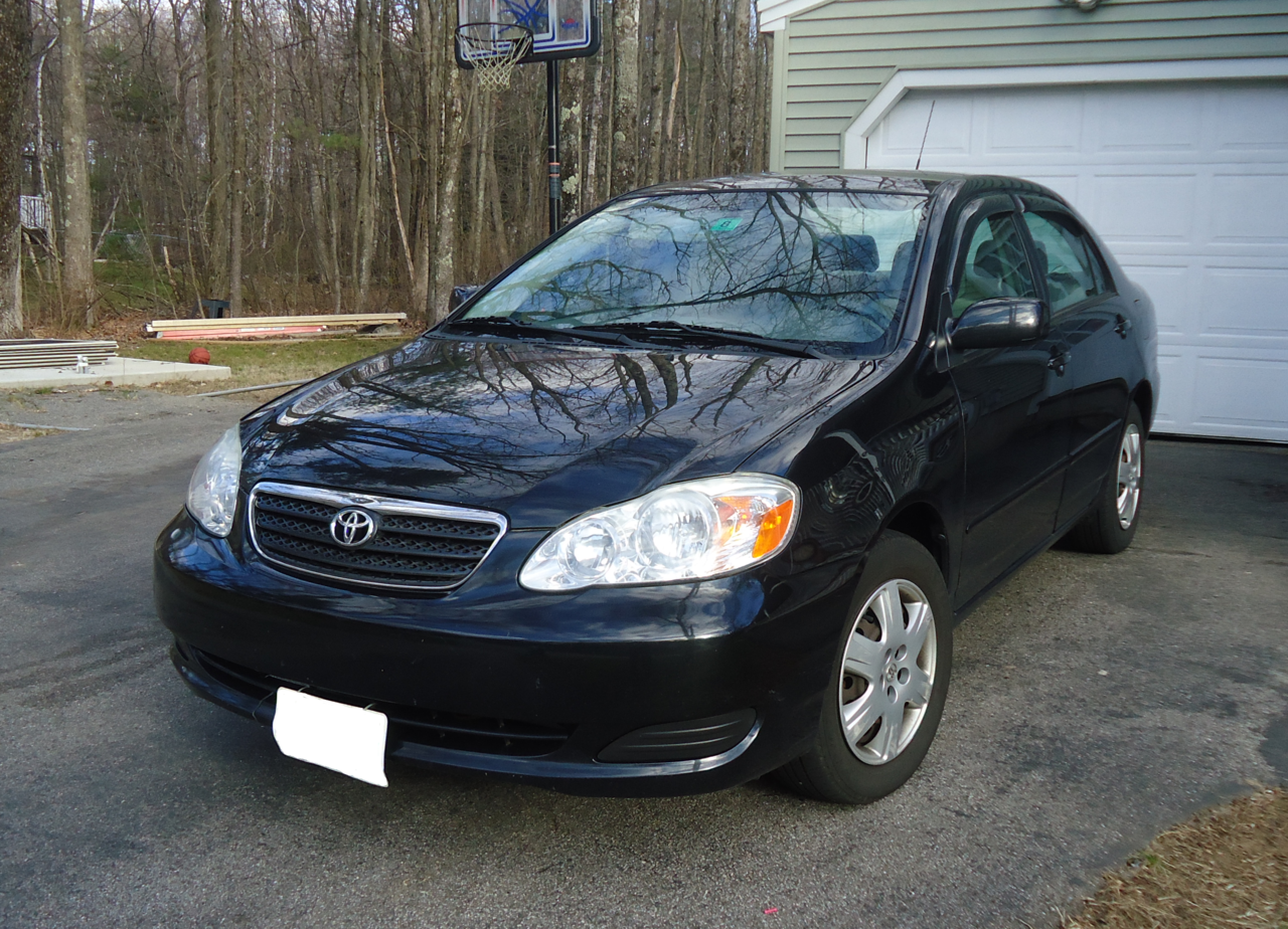 File This Is A 2005 Toyota Corolla Le With A 4 Speed