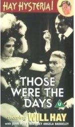 Those Were the Days (1934 film) DVD boxart.jpg