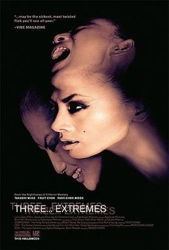 Three... Extremes - Theatrical release poster