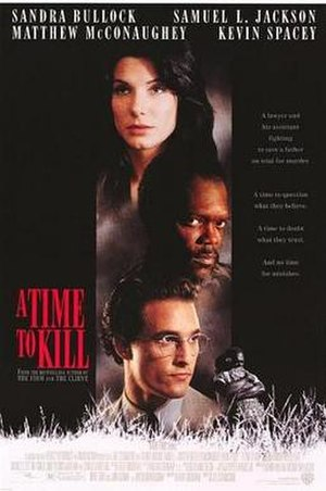 A Time to Kill (1996 film) - Theatrical release poster