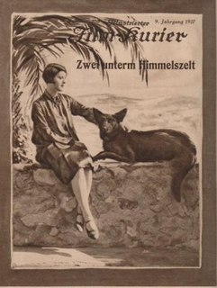 <i>Two Under the Stars</i> 1927 German film directed by Johannes Guter