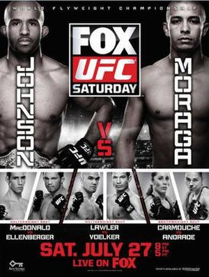 UFC on Fox: Johnson vs. Moraga - Image: UFC on FOX 8 updated poster