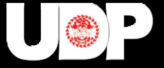 United Democratic Party (Belize) - Image: Udp logo