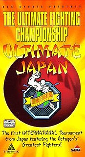 UFC Japan: Ultimate Japan UFC mixed martial arts event in 1997