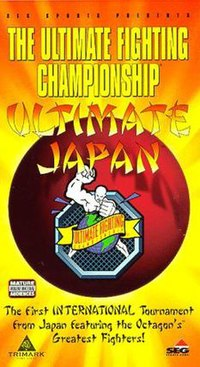 A poster or logo for UFC Japan: Ultimate Japan.